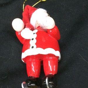 Avon Holiday - Vintage Avon Santa on Skates Ornament